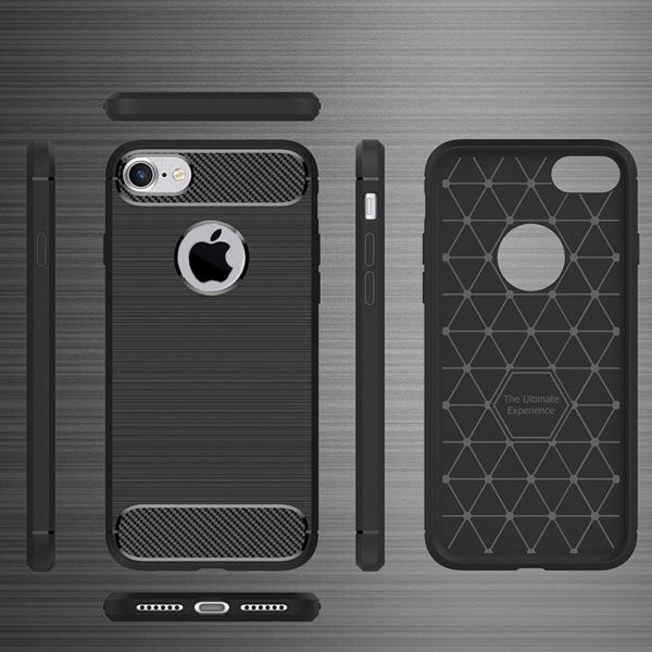 iphone cover - shockproof carbon