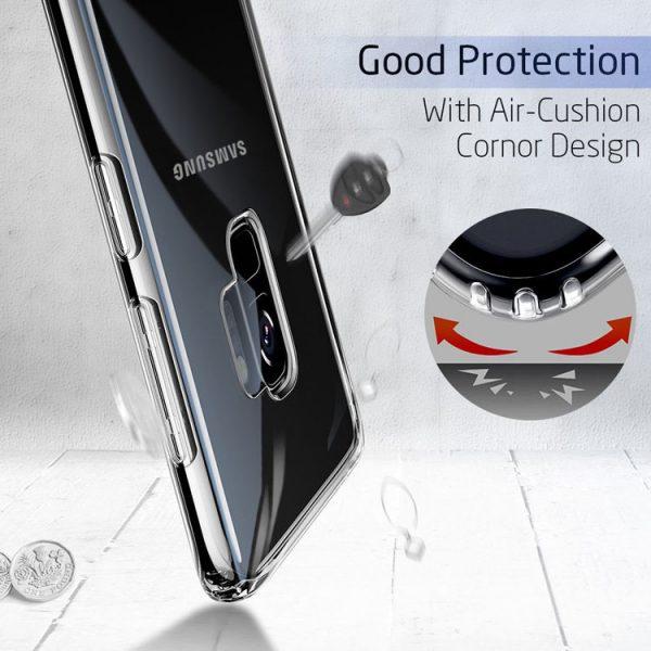 Samsung Galaxy S9 Hoesje Transparant