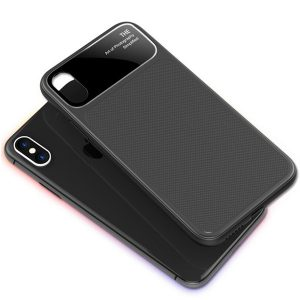 zwarte iPhone X cover