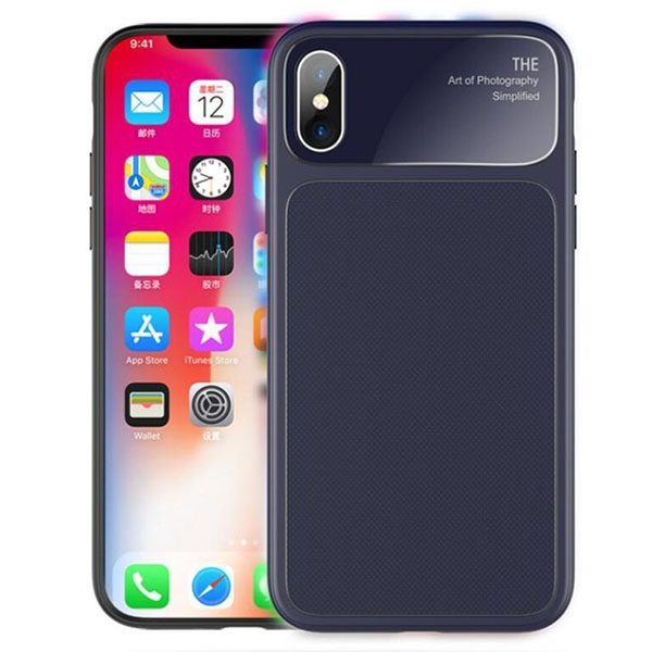 Zwart iPhone X hoesje