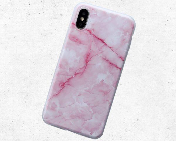 marmer hoesje voor iPhone X