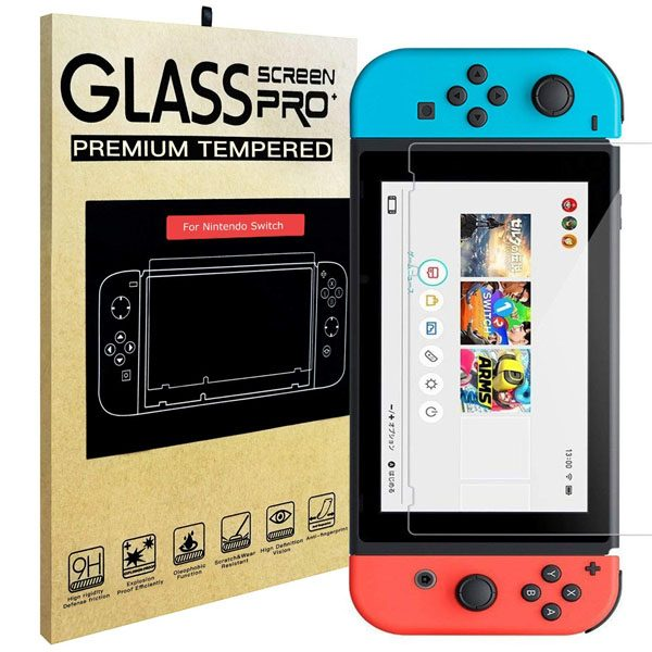 Screenprotector Nintendo Switch Tempered Glass (9H)