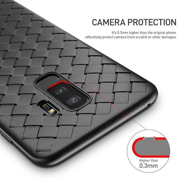 Galaxy S9 Plus Siliconen Hoesje Zwart