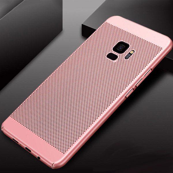 Galaxy S9 hoesje roze