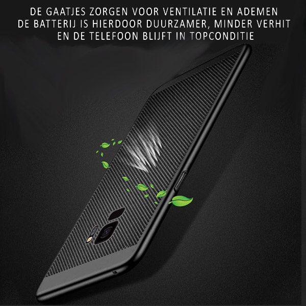 Zwart Galaxy S9 hoesje