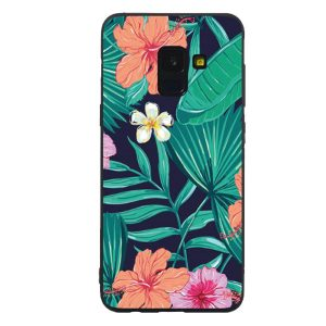 Galaxy S9 hoesje bloemen bloemenprint cover