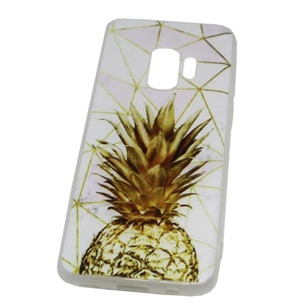 Galaxy S9 hoesje Ananas Goud