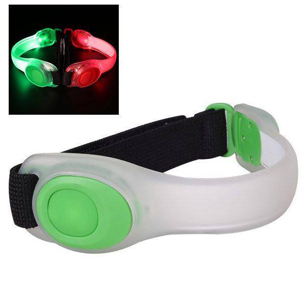 hardloop verlichting groen
