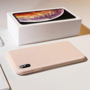 iPhone Xs hoesje roze