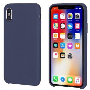 Blauw iPhone X / Xs siliconen hoesje