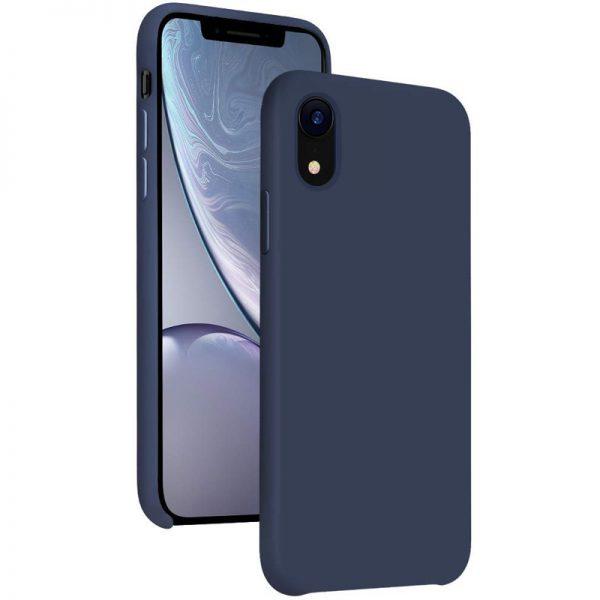 iPhone Xr Siliconen hoesje blauw