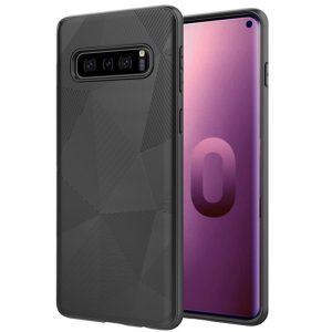 Galaxy S10 back cover zwart