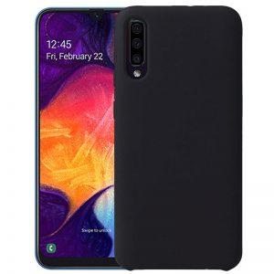 Zwart Galaxy A50 hoesje