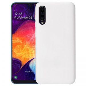Wit Galaxy A50 hoesje