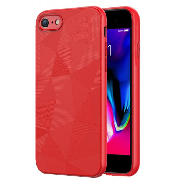 iPhone 7 / 8 hoesje magic traingle rood
