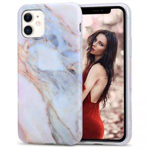 iPhone 11 hoesje marmer cover marmerprint case