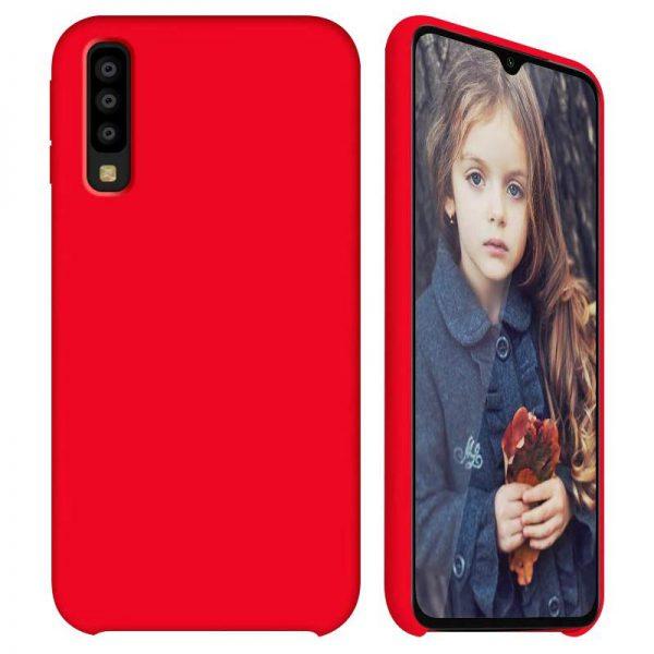 Galaxy A50 hoesje rood